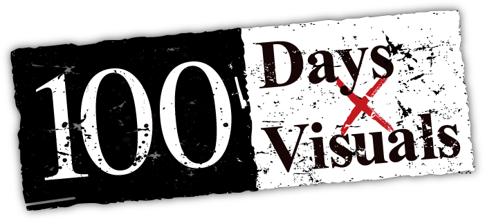 100 Days×Visuals